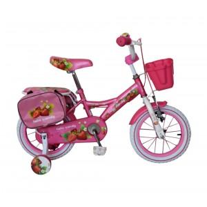 Bicicletta bambina misura 14'' HELLO CANDY FRUIT telaio acciaio