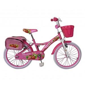 Bicicletta bambina misura 20'' HELLO CANDY FRUIT telaio acciaio