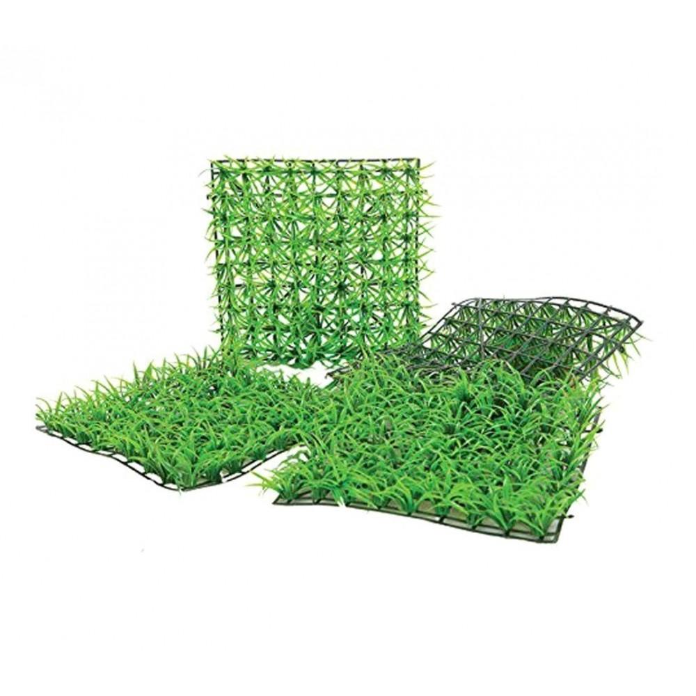 Mattonella in erba sintetica realistica 036392 per giardino 25x25 cm