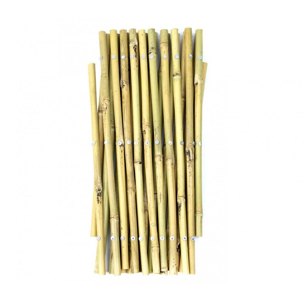 Steccato estensibile in bamboo 377505 giardino recinzione 30x240 cm