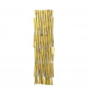 Steccato estensibile in bamboo 377512 giardino recinzione 60x240 cm