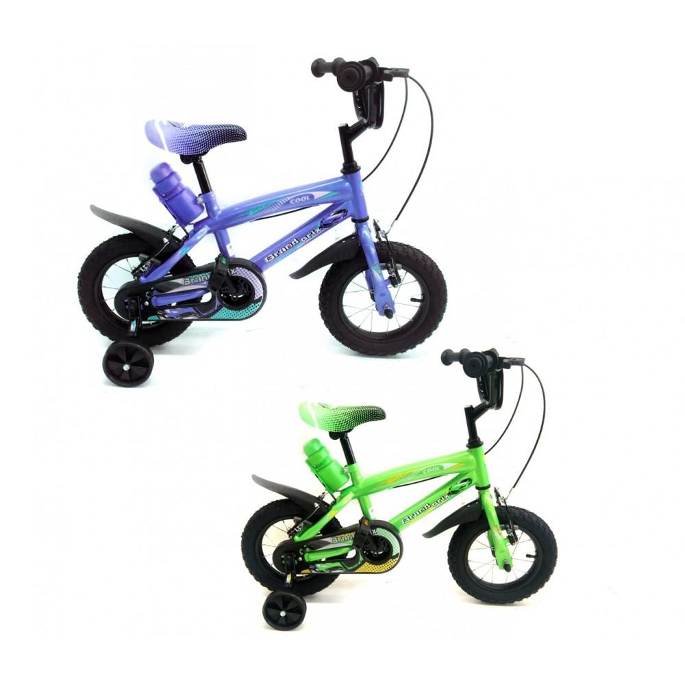 Bicicletta Gran Prix Taglia 12 Bici Bimbo Per Bambini Età 2 5 Anni