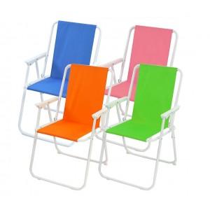 Sedia piegevole relax ONSHORE da spiaggia campeggio mare 065767 in textilene