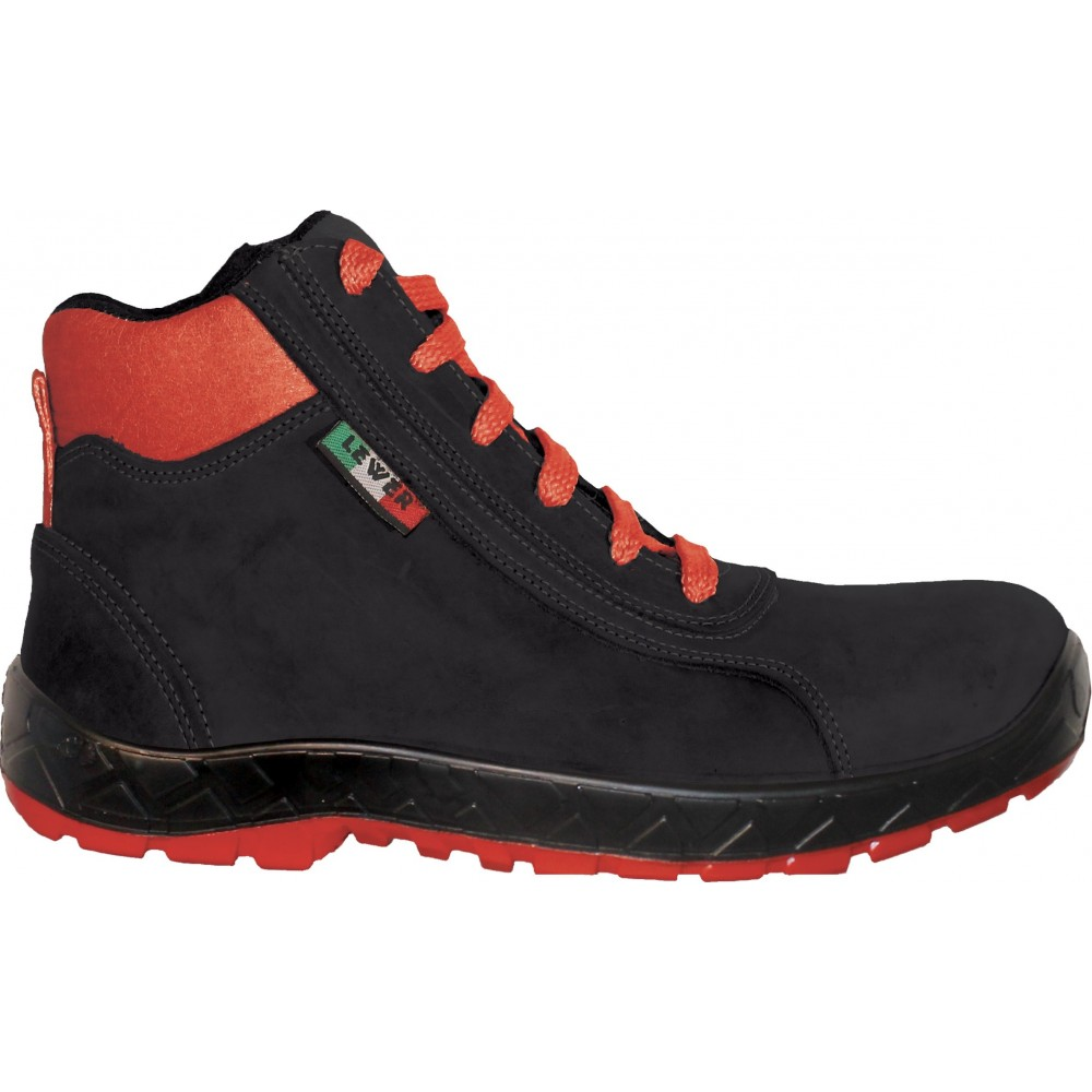 Scarpa alta uomo donna LEWER antinfortunistica Furore N S3 linea EVOLUTION 2.0