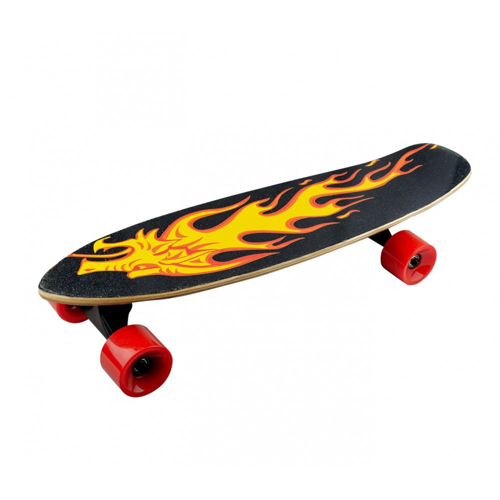 Skateboard 70 cm BSCI elettrico FUSE telecomando wireless 15 km/h GOLD DRAGON
