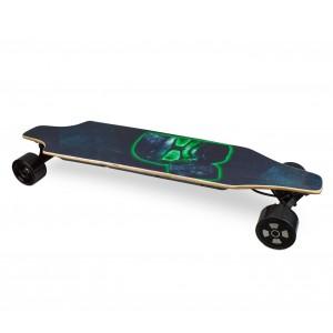 Skateboard 90 cm elettrico SLAVE con telecomando wireless 15 km/h CAMERA