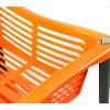 Carrello portafrutta a 3 piani 348499 WELKHOME in 4 colori con ruote 30x40x69 cm