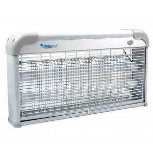 Lampada anti-insetti e anti zanzare con Neon LED UV da 3W 389256 48x8x27 cm