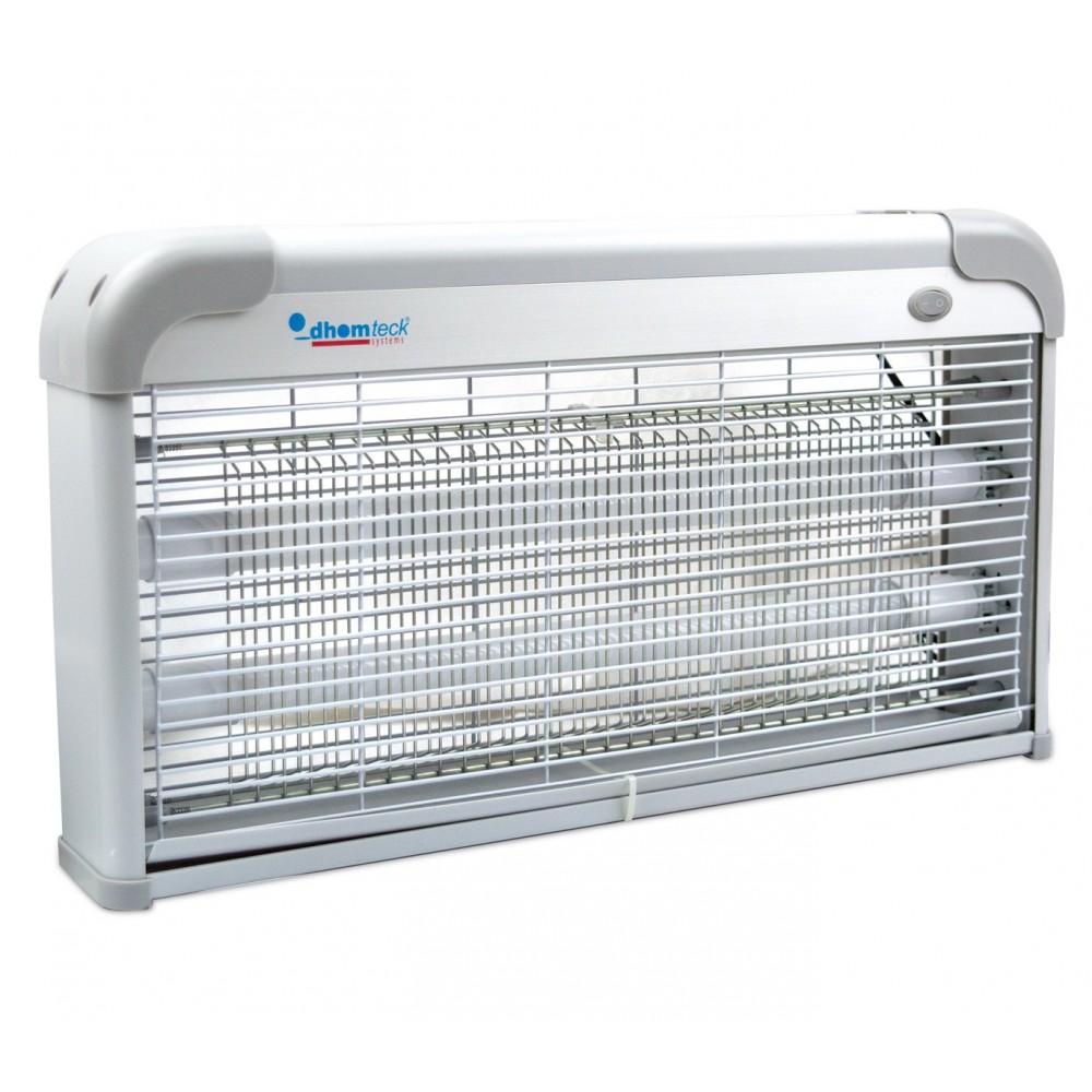 Lampada anti insetti zanzare DHOMTECK con 2 Neon LED UV da 3W 389256 48x8x27 cm