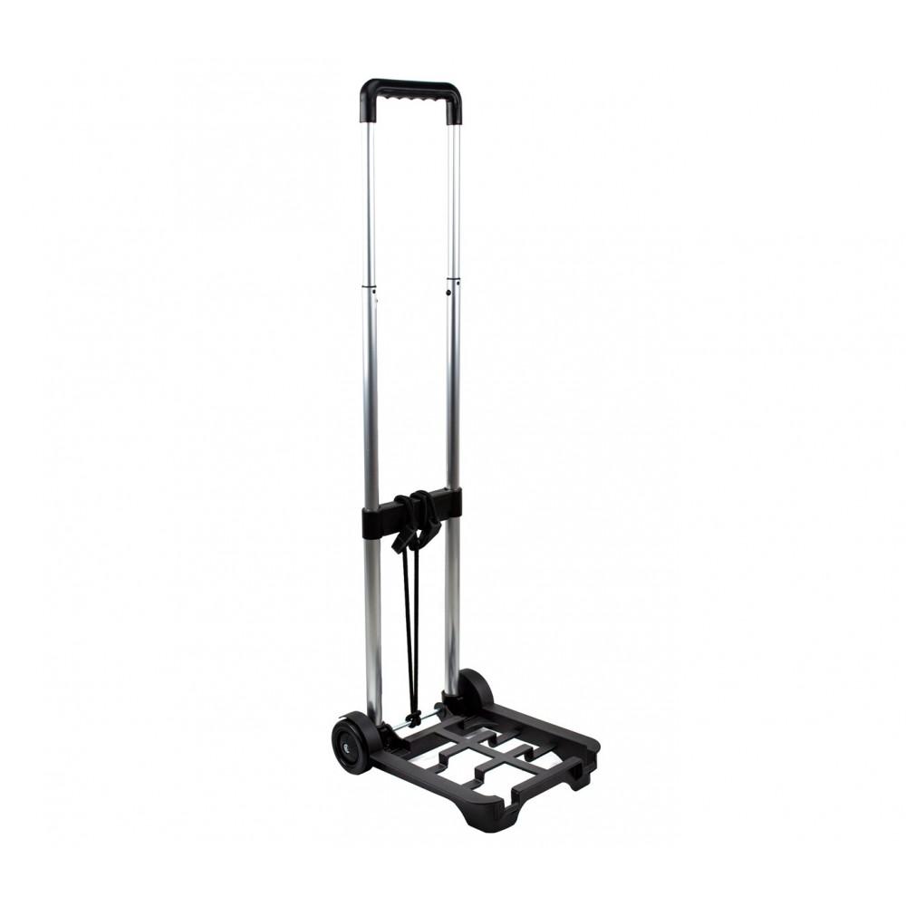 Carrello porta valigia pieghevole EVERTOP 90x30x24 cm 153956 per trolley viaggio