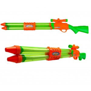 Fucile ad acqua da cecchino LONGSHOT con doppio spruzzo 334577 WATER BLASTER