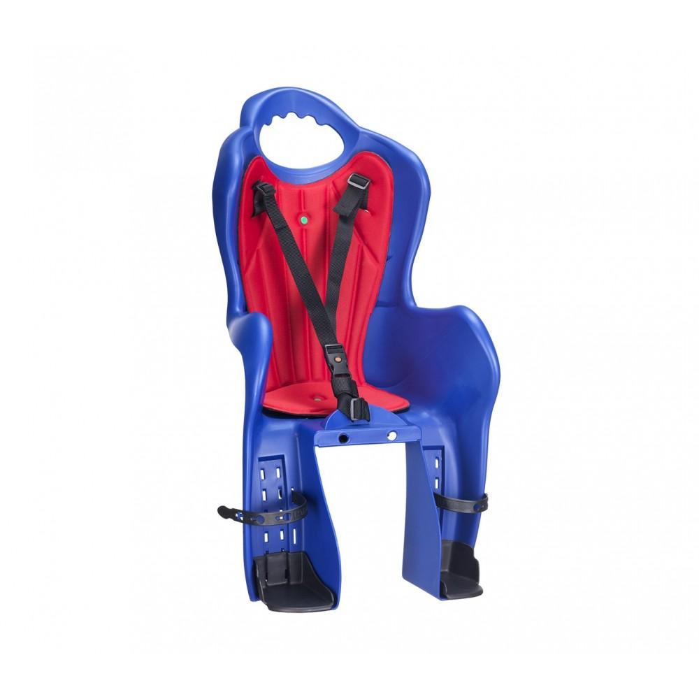 Sediolino da Bici HTP Portapacco Elibas P in tre color kit di aggancio