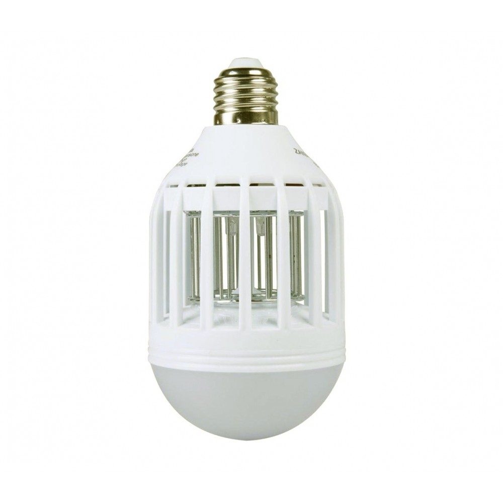 Lampadina anti insetti zanzare DHOMTECK 8W LED 2 in uno 449691 attacco E27