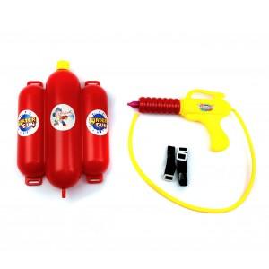 Pistola ad acqua FIREFIGHT 384213 con serbatoio grande azione a pistone