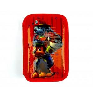 Image of Astuccio portapastelli 3 cerniere 43pz 55531 giotto scuola Paw Patrol colori 8435524540084