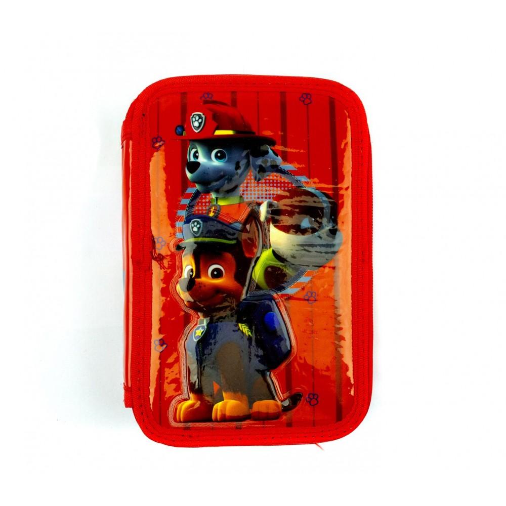 Astuccio portapastelli 3 cerniere 43pz 55531 giotto scuola Paw Patrol colori