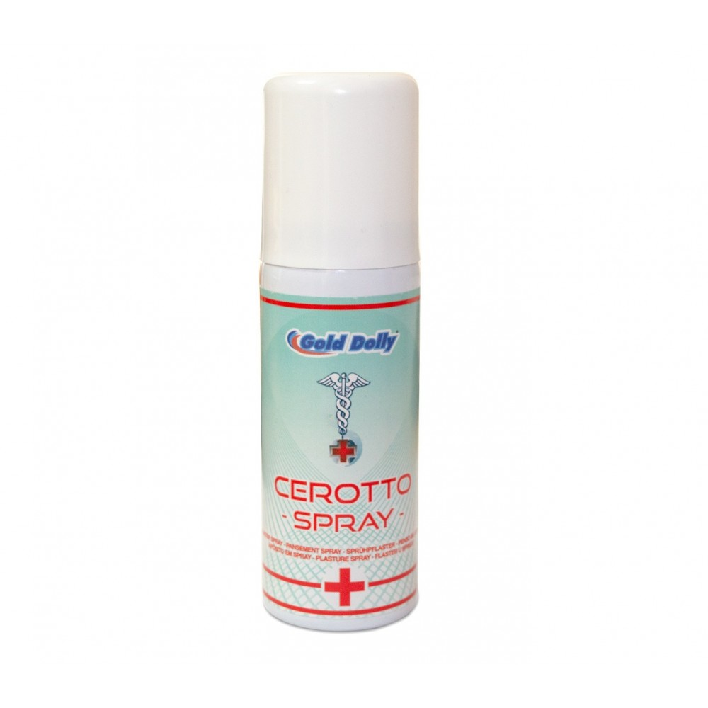 Cerotto Spray FIRST AID Gold Dolly 262825 medicazione istantanea 50 ml