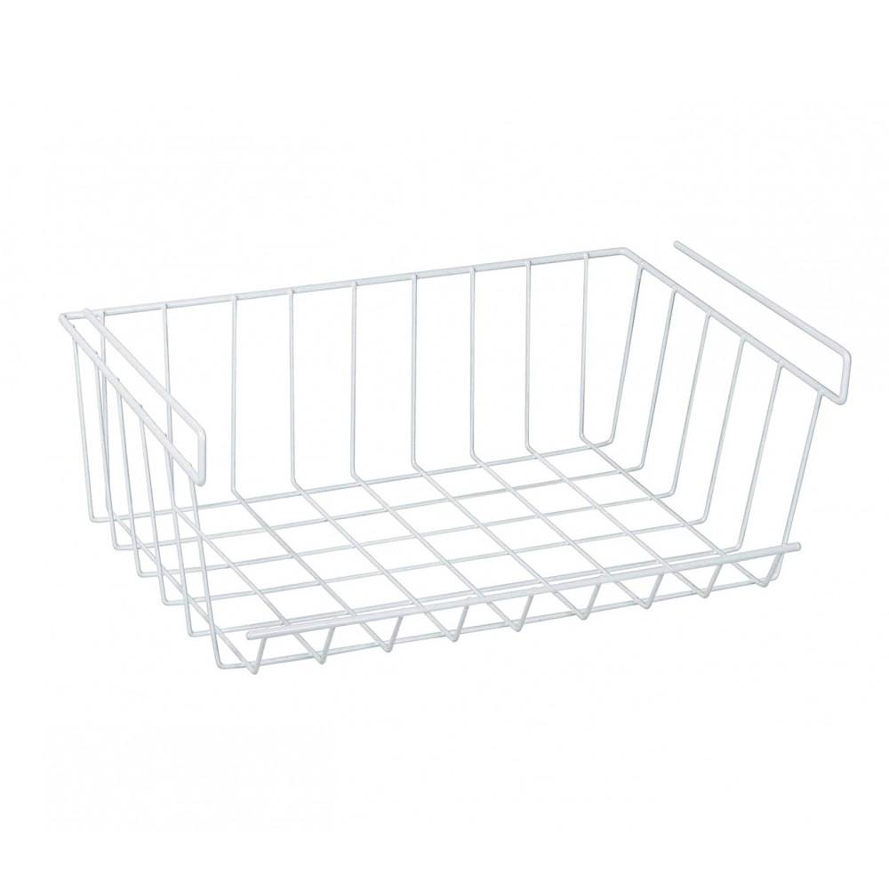 Organizer sotto mensola per dispense mensole e frigo 31x16.5x31.5 cm salvaspazio