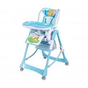 Seggiolone SORRENTO BK-B1089 NUNU' pieghevole e reclinabile con seduta imbottita