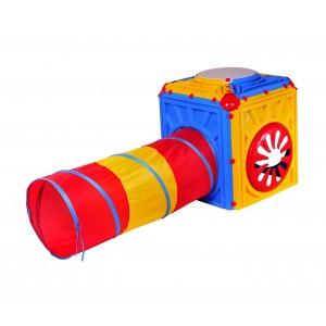 Cubo attività in plastica con tunnel starplay interno esterno 402238