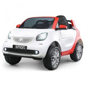 Image of Auto bambini elettrica SMART CABRIO 12V cabrio GVC radiocomando MP3 USB 8435524532737