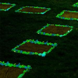Image of Pack da 100 sassolini luminosi decorativi fluorescenti glow in the dark 8038277894987