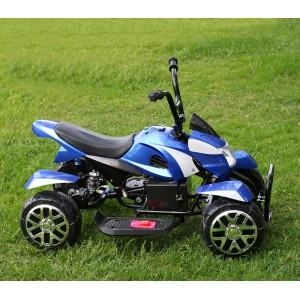 Image of Auto Quad 12V TD elettrico GVC-535 per bambini monoposto 2 motori da 35W MP3 USB 8435524532874