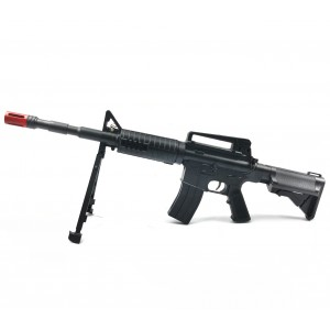 Fucile Mitra giocattolo 433997 CIGIOKI calibro 6 mm M4 con treppiedi
