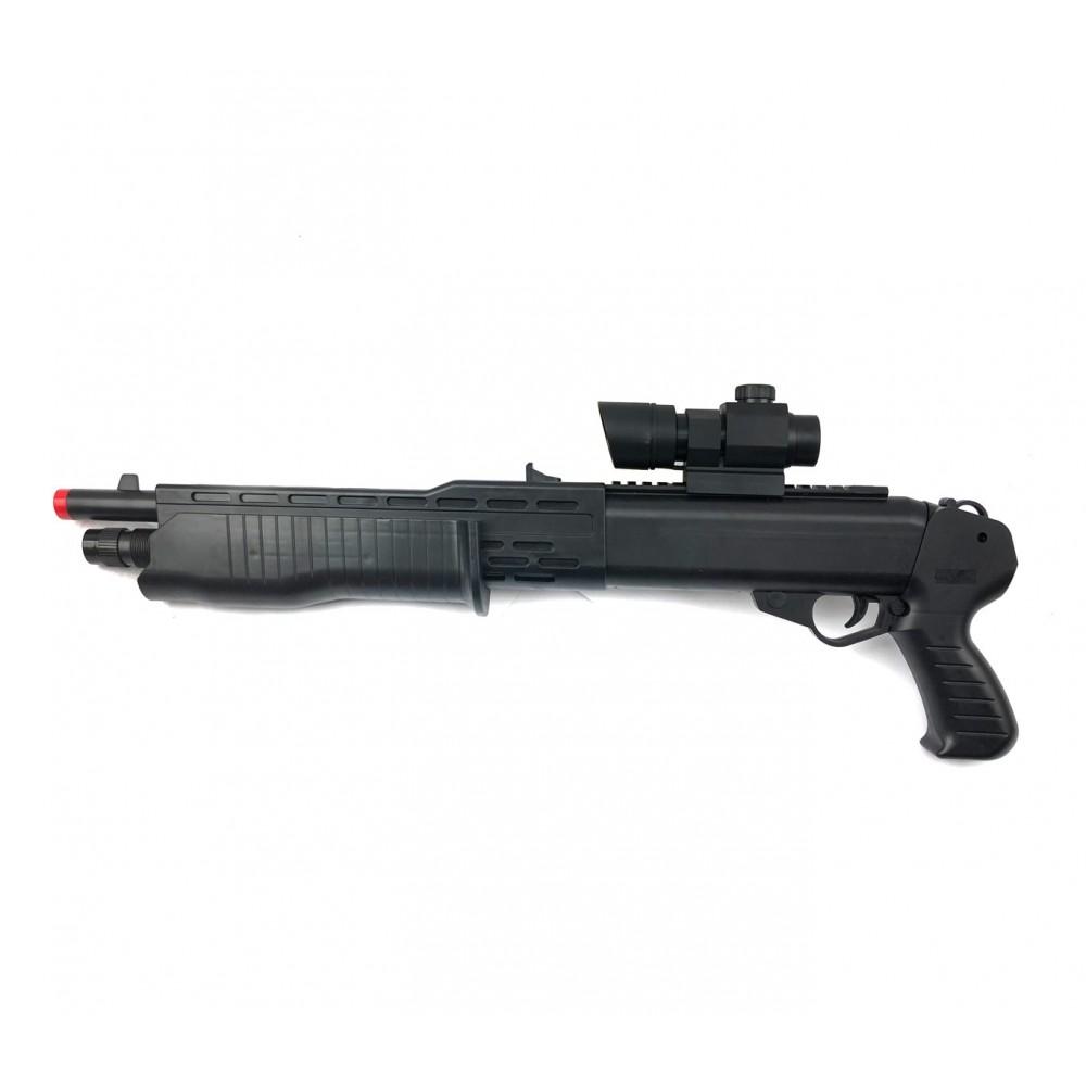 Fucile a pompa giocattolo a pallini 434031 calibro 6 mm BB gun