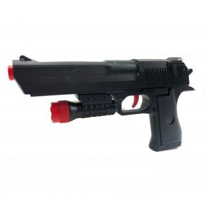 Pistola giocattolo lancia dardi 368060 con puntatore dardi inclusi