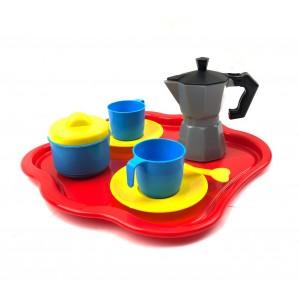 Servizio da Caffè completo 10 accessori e dolcetti ritagliabili 452493