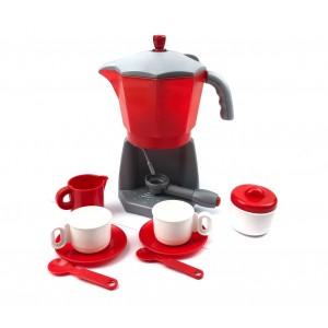 Macchina da caffè con servizio completo 9 accessori 452479 con pompa