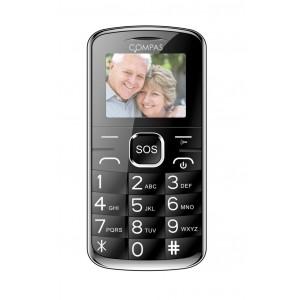 Cellulare gsm Compas E04 dual sim con tasti grandi e SOS radio fm e fotocamera integrati