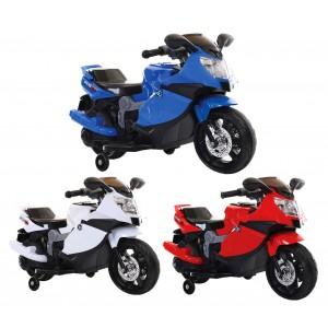 MOTO sportiva 6V per bambini GVC-536 elettrica con luci, musica e retromarcia
