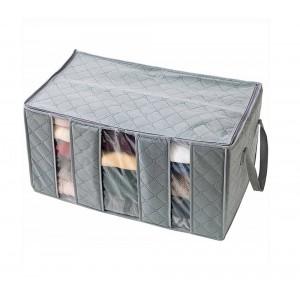 Organizzatore armadio porta abiti cambio stagione 3 scomparti storage box