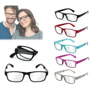 41278 Occhiali da lettura pieghevoli mod. Bring Easy varie gradazioni e colori