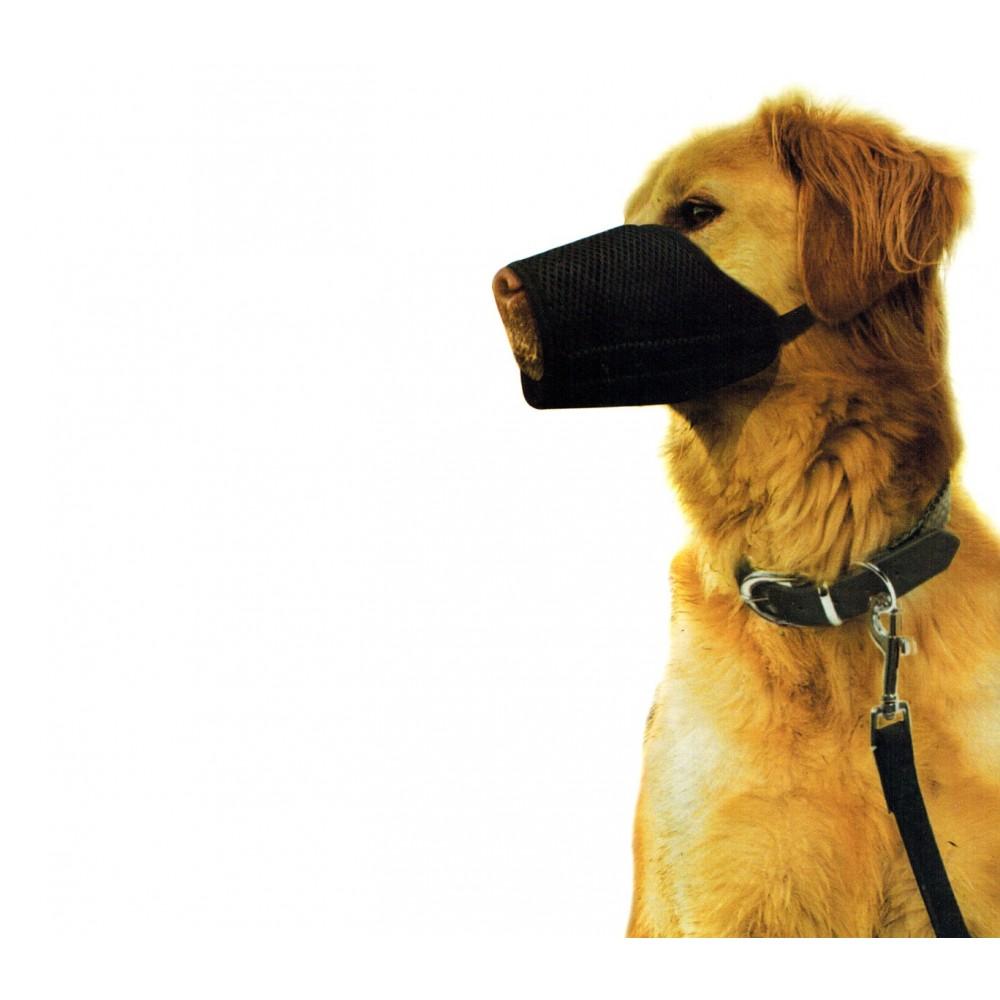 Museruola regolabile in Nylon NOBLEZA lavabile per sicurezza MUZZLE DOG