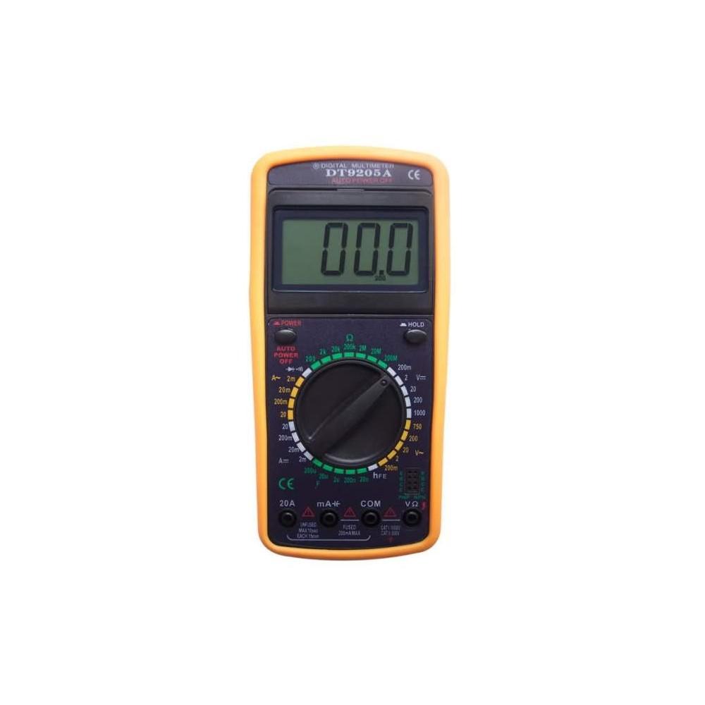 Tester digitale multimetro multimer professionale DT-9205A Tascabile LCD