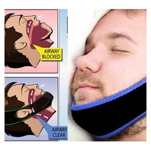 Fascia elastica mandibolare anti roncopatie-bruxismo notturno 176350 regolabile
