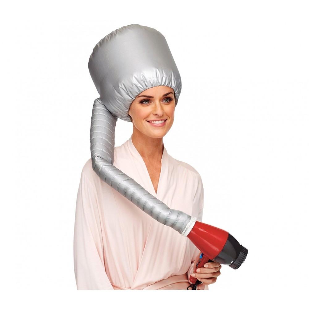 Cuffia Casco per capelli ricci 179832 diffusore da viaggio pieghevole