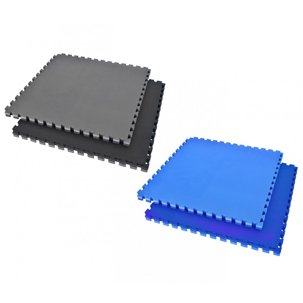 Tappeto puzzle in EVA 100 x 100 x 2 cm componibile adatto per playground e sport