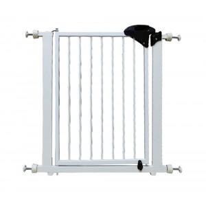 021062 Nobleza Cancello con bloccaggio a pressione per bambini e animali 75-85cm
