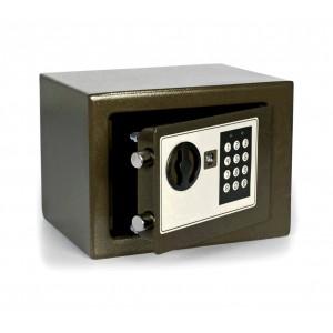 Image of Cassaforte elettronica a batterie con combinazione numerica e doppia chiave 8435524533321