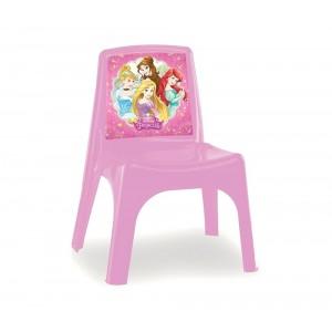 Sedia Bildo colorata per bambini in plastica resistente P. Disney 43x26x24cm