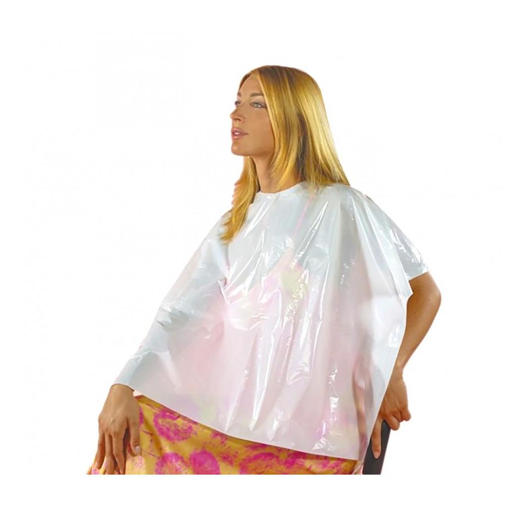 Pack da 12 pz Mantelline monouso bianche 158998 da parrucchiera 90x110 cm