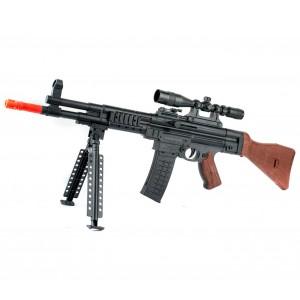 434017 Fucile a pallini BB 6mm con cavalletto e parti separabili