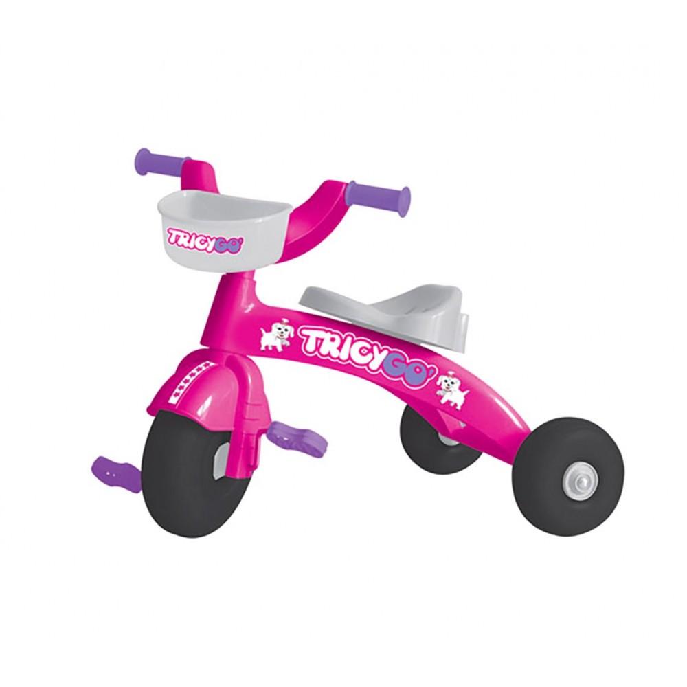 Triciclo TRICYGO primipassi GV con pedali 4 varianti colore