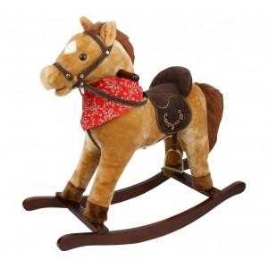 Cavallo a dondolo con suoni e movimento coda e bocca