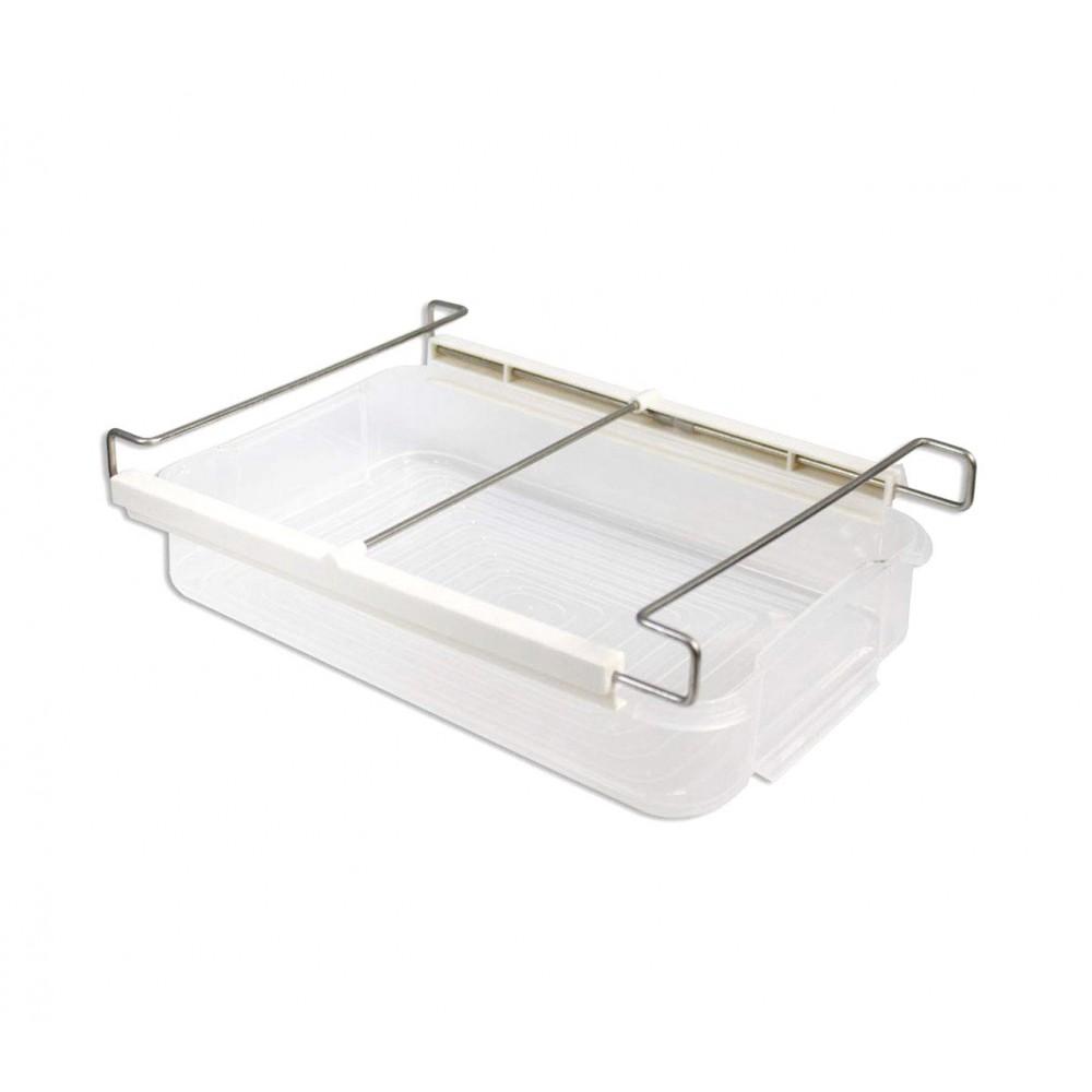 Organizer Frigo regolabile 871025 con cassetto estraibile trasparente FRIDGE