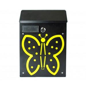 Cassetta Postale Farfalla ARTIGIAN FERRO Art. 730c con serratura 21X8X30 cm